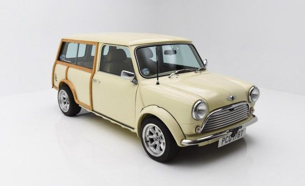 This Classic Mini Countryman Might Just Fit Inside a New Mini Countryman