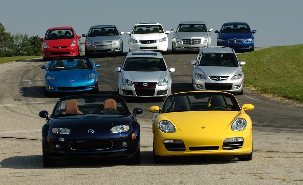 The Best Around Car And Driver S 10best Cars Through The Decades
