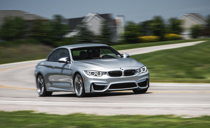 2015 BMW M4 convertible - Slide 1