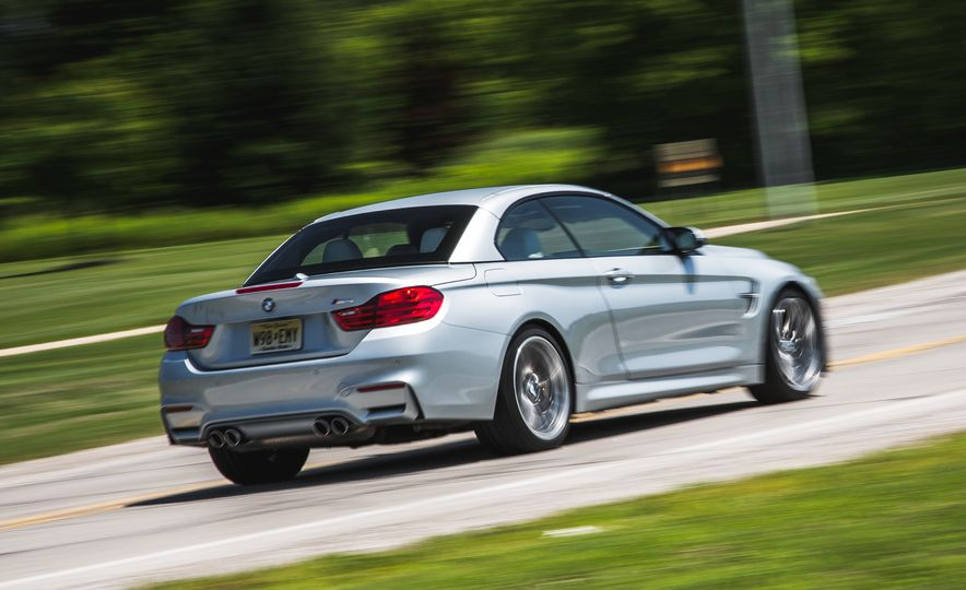 2015 BMW M4 convertible - Slide 8