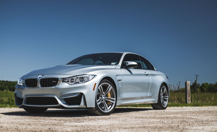 2015 BMW M4 convertible - Slide 13