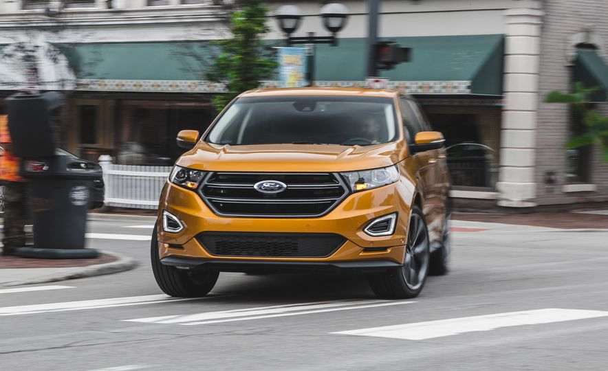 2015 Ford Edge 2.7L EcoBoost AWD - Slide 1
