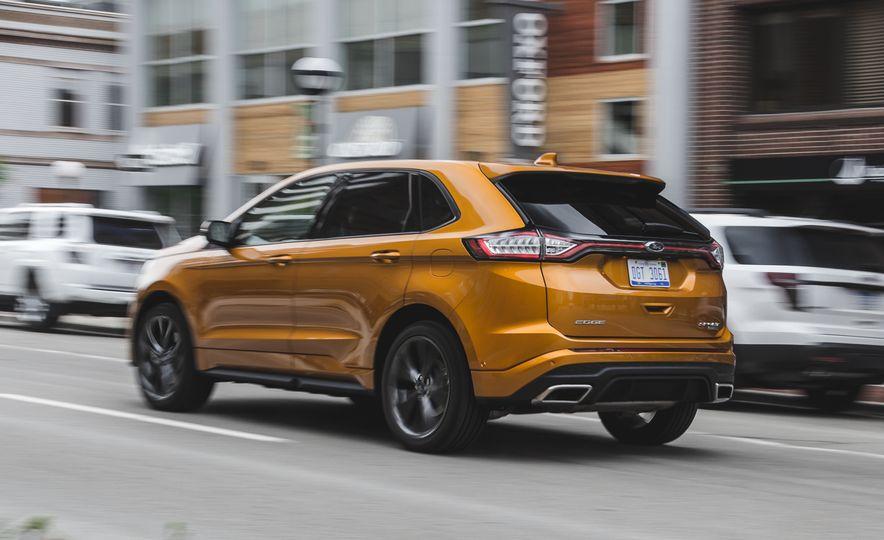 2015 Ford Edge 2.7L EcoBoost AWD - Slide 8
