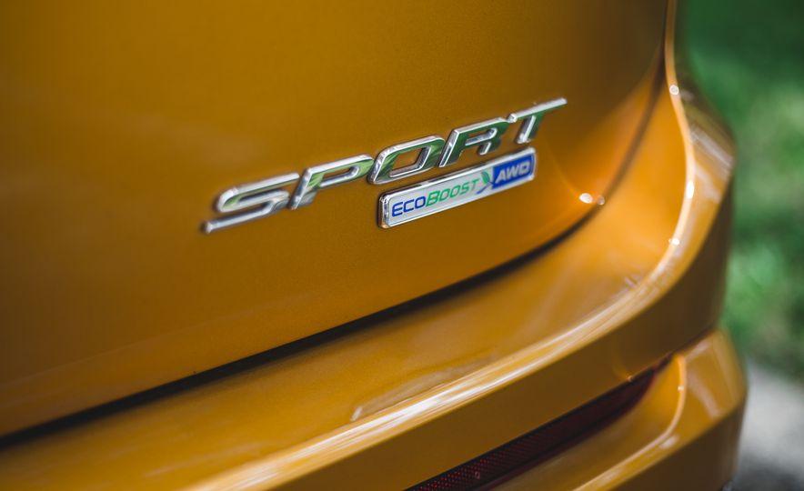 2015 Ford Edge 2.7L EcoBoost AWD - Slide 20