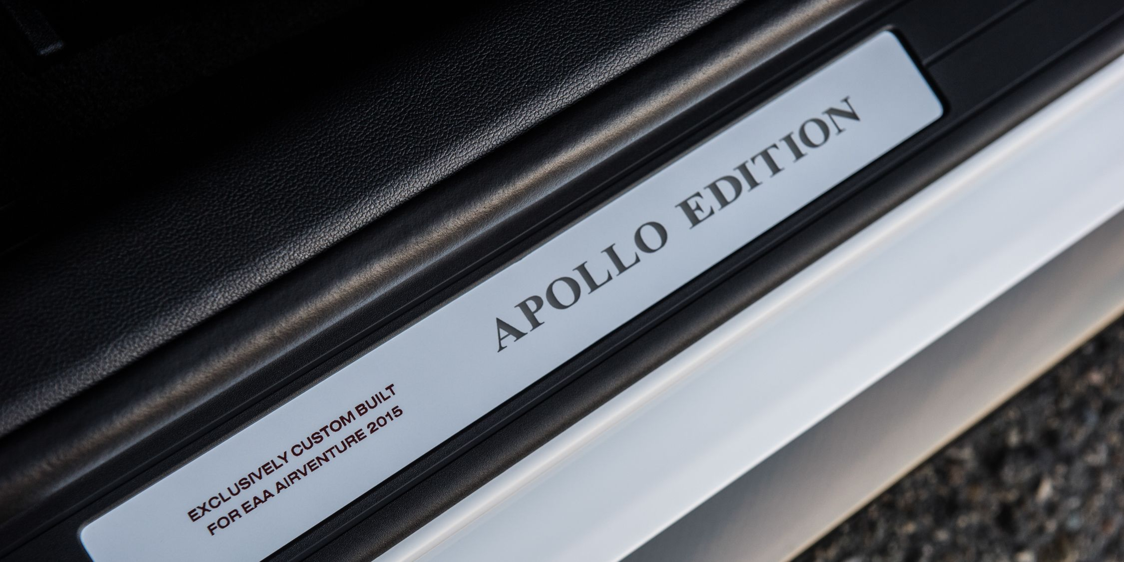 """Ford's One-Off """"Apollo Edition"""" Mustang Wants to Be an Astronaut When It Grows Up"""