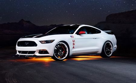 "Ford's One-Off ""Apollo Edition"" Mustang Wants to Be an Astronaut When It Grows Up"