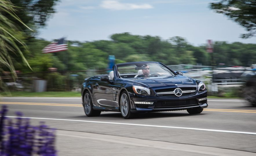 2015 Mercedes-Benz SL63 AMG - Slide 1