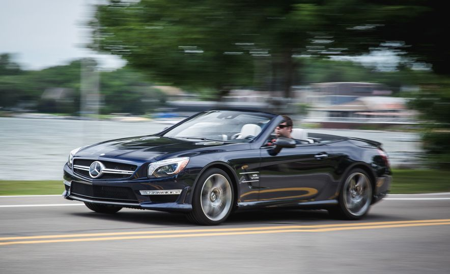 2015 Mercedes-Benz SL63 AMG - Slide 4