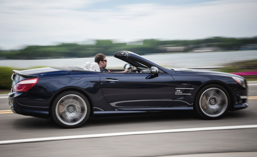2015 Mercedes-Benz SL63 AMG - Slide 6