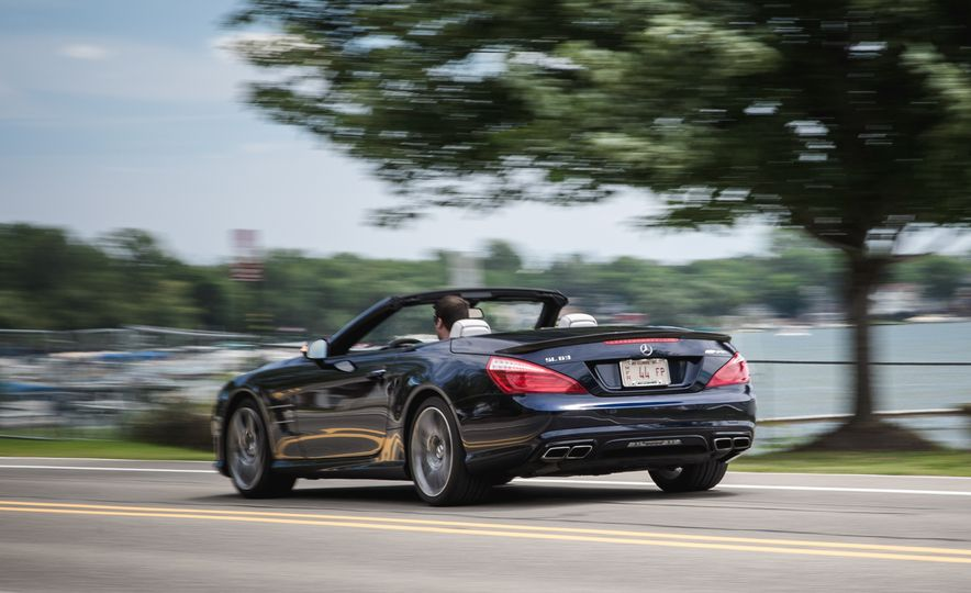 2015 Mercedes-Benz SL63 AMG - Slide 8