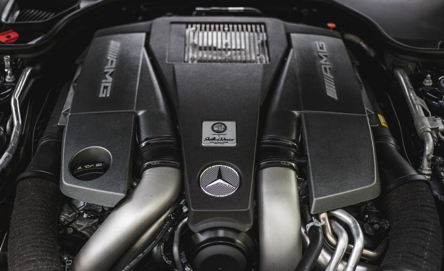 2015 Mercedes-Benz SL63 AMG - Slide 58