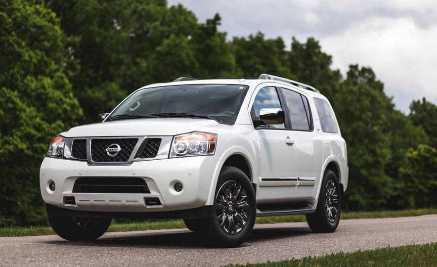 2015 Nissan Armada Platinum - Slide 9