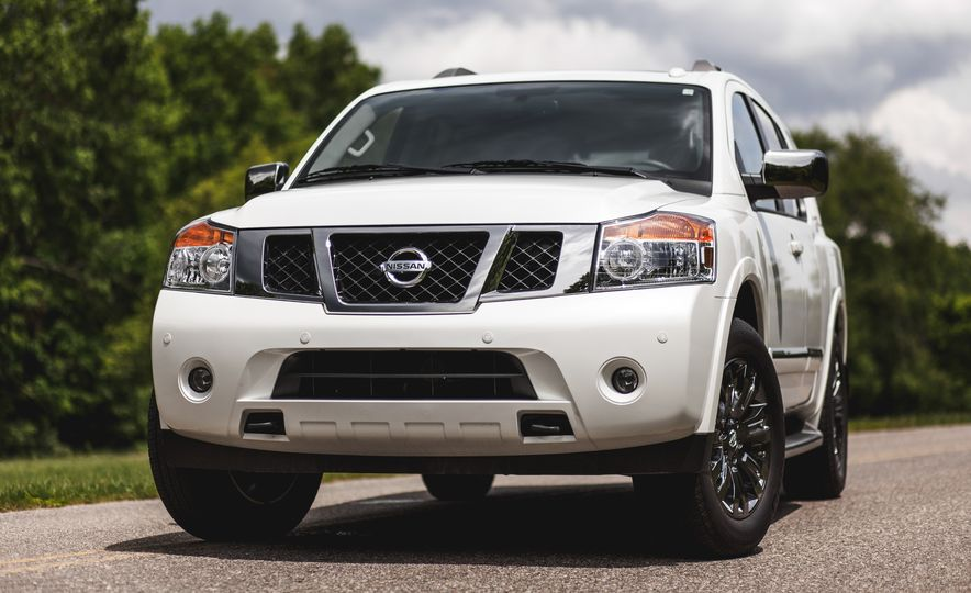 2015 Nissan Armada Platinum - Slide 10