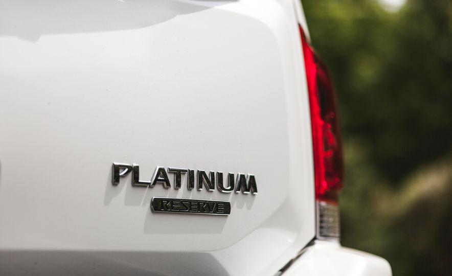 2015 Nissan Armada Platinum - Slide 18