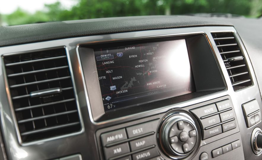 2015 Nissan Armada Platinum - Slide 27