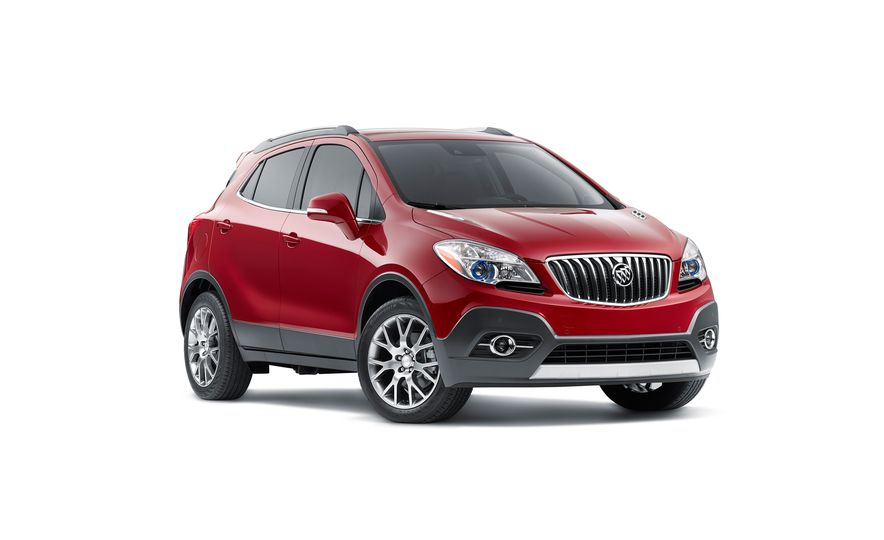 2016 Buick Encore Sport Touring - Slide 1