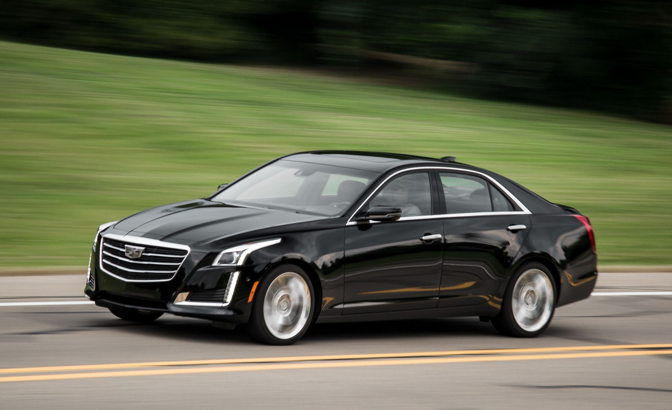 Cadillac 2 0 T >> 2016 Cadillac Cts 2 0t Pictures Photo Gallery Car And Driver