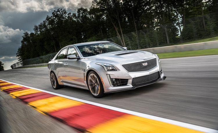 2016 Cadillac CTS-V – Instrumented Test