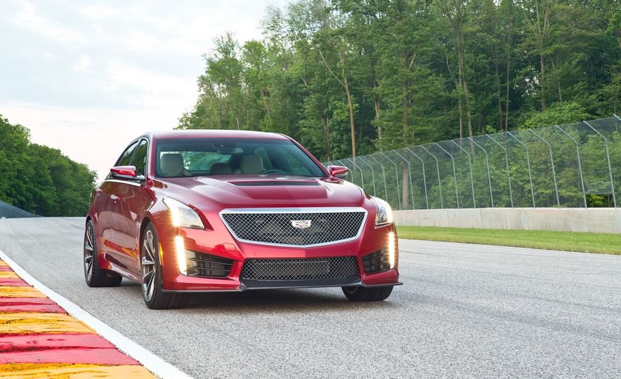 2016 Cadillac CTS-V - Slide 35
