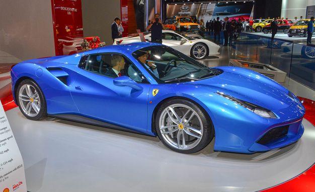 2016 Ferrari 488 Spider The 488gtb Gains A Folding Roof News