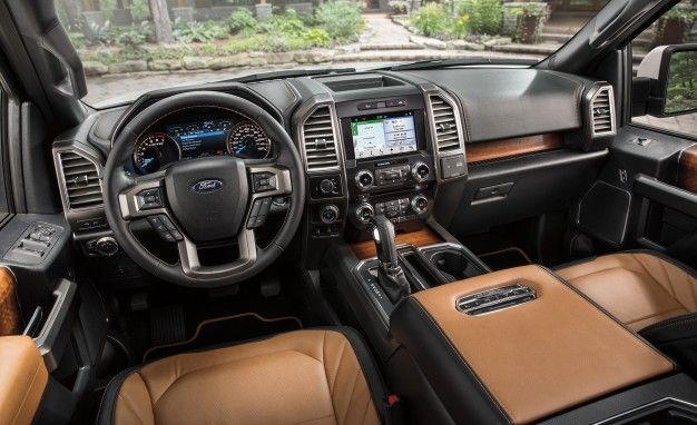 2016 ford f-150 limited raises ceiling for luxury trucks – news