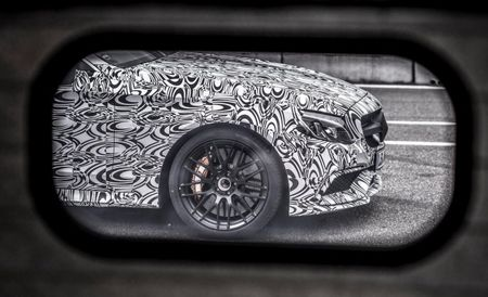 Mercedes-AMG Teases New C63 Coupe on Its Facebook Page