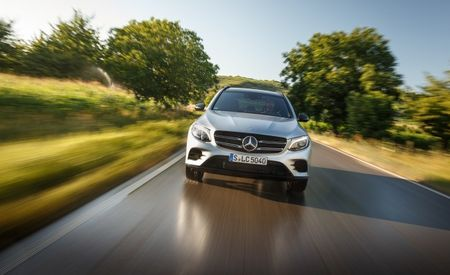 Mercedes-Benz Preparing Hydrogen Fuel-Cell GLC-class for 2018