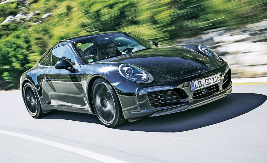2016 Porsche 911 Carrera coupes and cabriolets - Slide 10