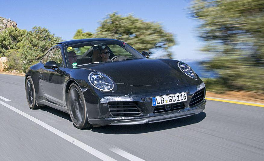 2016 Porsche 911 Carrera coupes and cabriolets - Slide 12