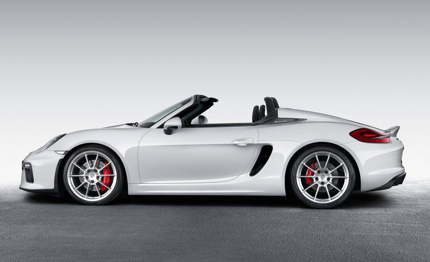 2016 Porsche Boxster Spyder - Slide 7