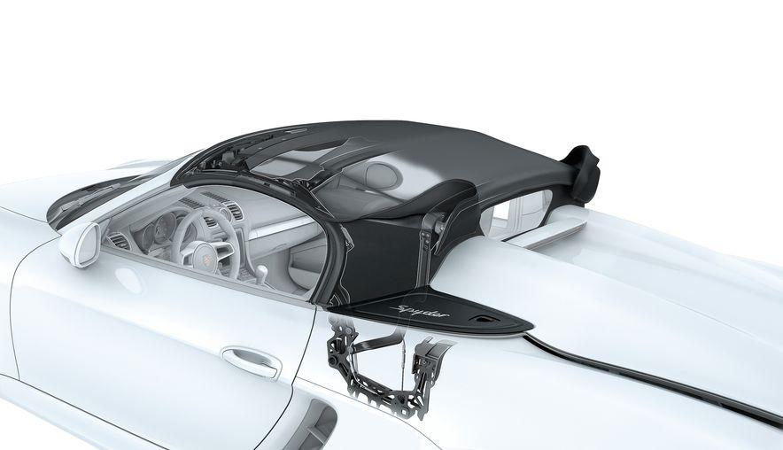 2016 Porsche Boxster Spyder - Slide 12