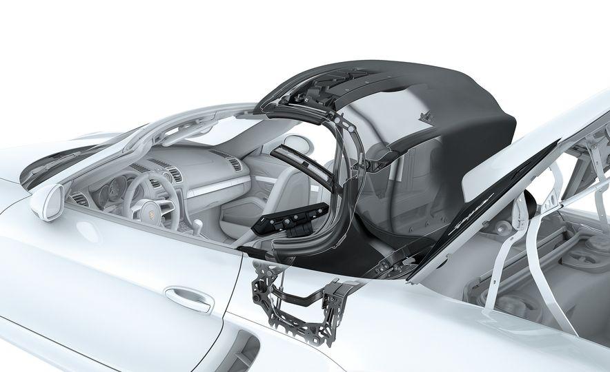 2016 Porsche Boxster Spyder - Slide 13