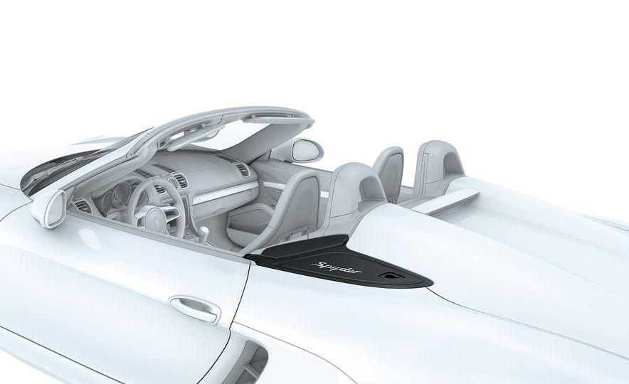 2016 Porsche Boxster Spyder - Slide 15