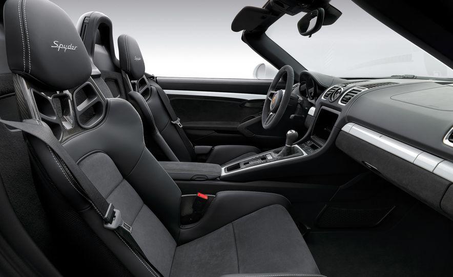 2016 Porsche Boxster Spyder - Slide 5