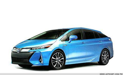 Purported 2016 Toyota Prius Specs, Photos Leak Out