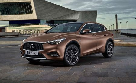Production-Ready 2017 Infiniti Q30 Revealed Ahead of Frankfurt Debut