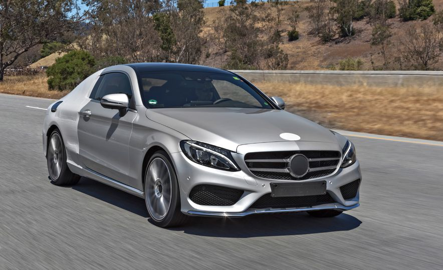 2017 MercedesBenz Cclass coupe Pictures  Photo Gallery  Car