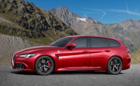 Hauling Hotties: Alfa Romeo Giulia Wagon, Crossover Rendered