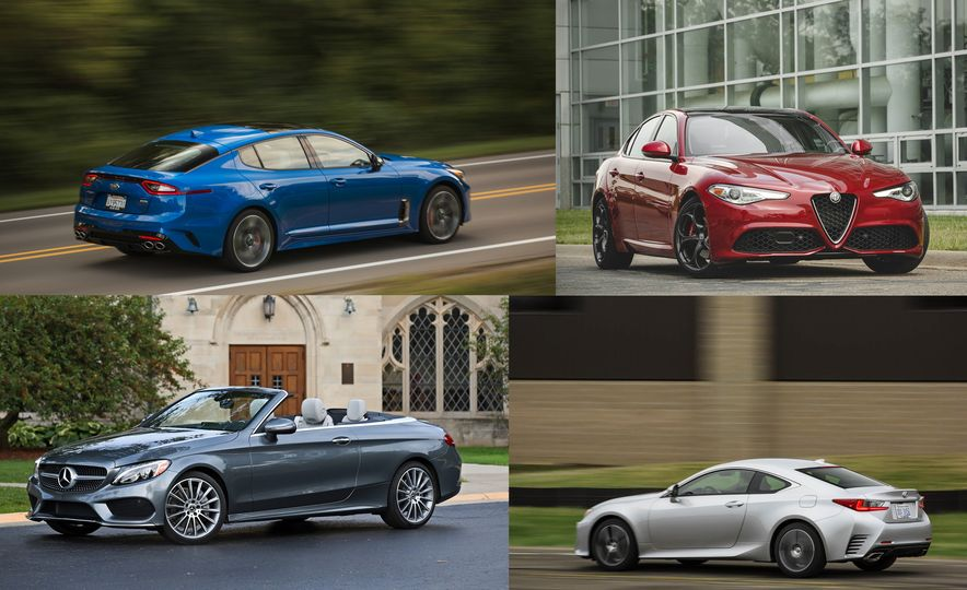 Swank for Less Bank: Entry-Level Luxury Cars Ranked - Slide 1