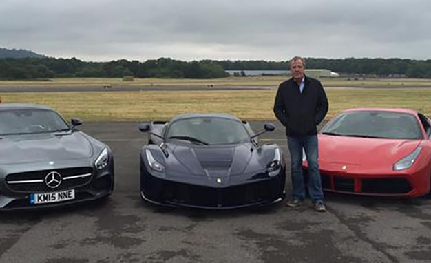 One of These Three Cars Will Be Clarkson's Last Top Gear Lap