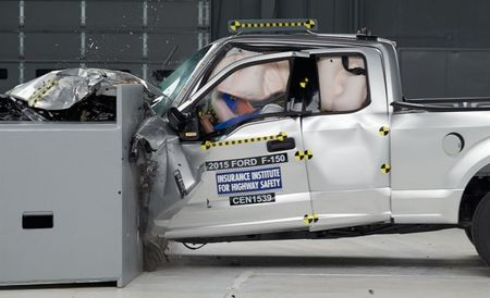 IIHS: 2015 Ford F-150 Crash Tests Reveal Disparate Results Between Crew Cab and Extended Cab