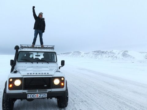 Our Icelandic Ode To The Land Rover Defender News Car And Driver