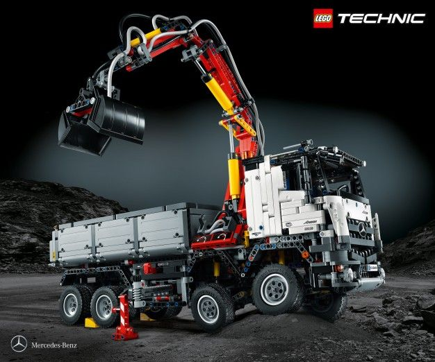 This Mega Lego Mercedes-Benz Kit Is More Complicated Than Its Name ...