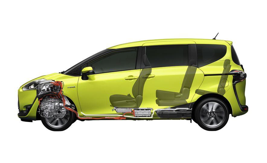Toyota Sienta hybrid (JDM-spec) - Slide 6