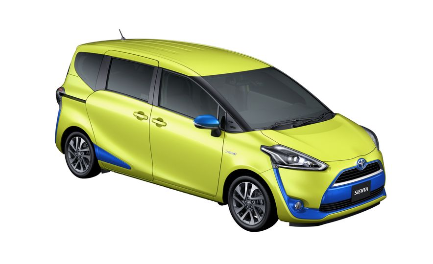 Toyota Sienta hybrid (JDM-spec) - Slide 9