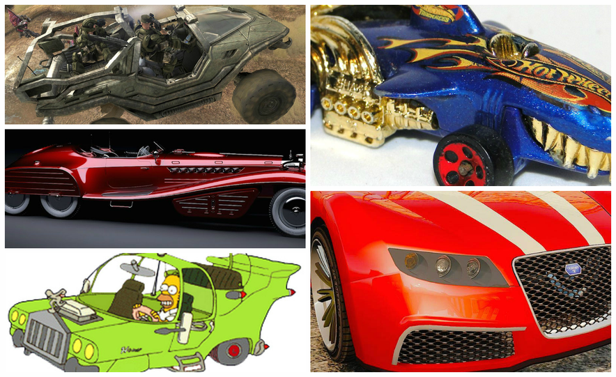 Imagination Station: 15 Unreal Cars That Should Be Real - Slide 1