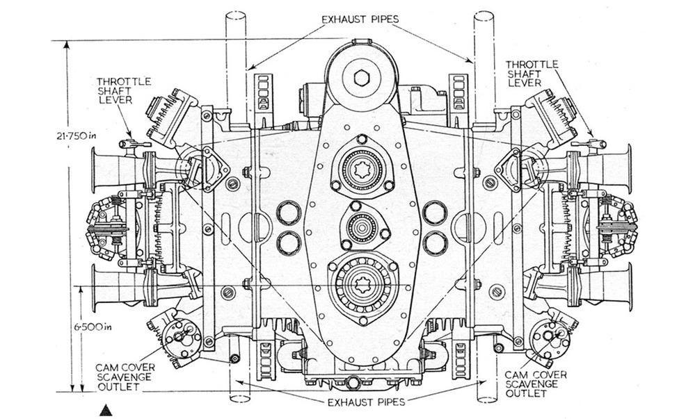 racing engine diagram