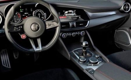 Carbon and Chrysler: Alfa Romeo Giulia Interior Images Surface [Video]