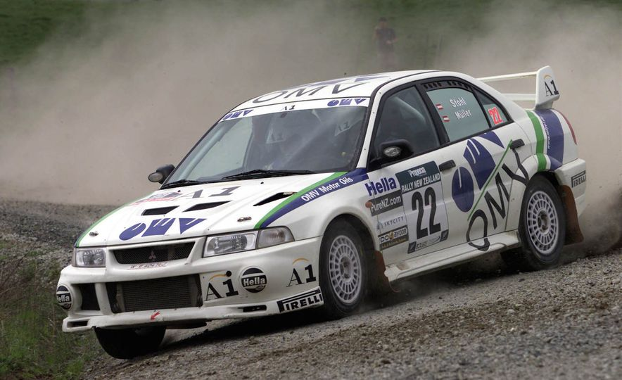 Mitsu Metamorphosis: The History of the Mitsubishi Lancer Evolution - Slide 23