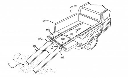 Ram Patents Retractable Pickup-Truck Bed Ramps